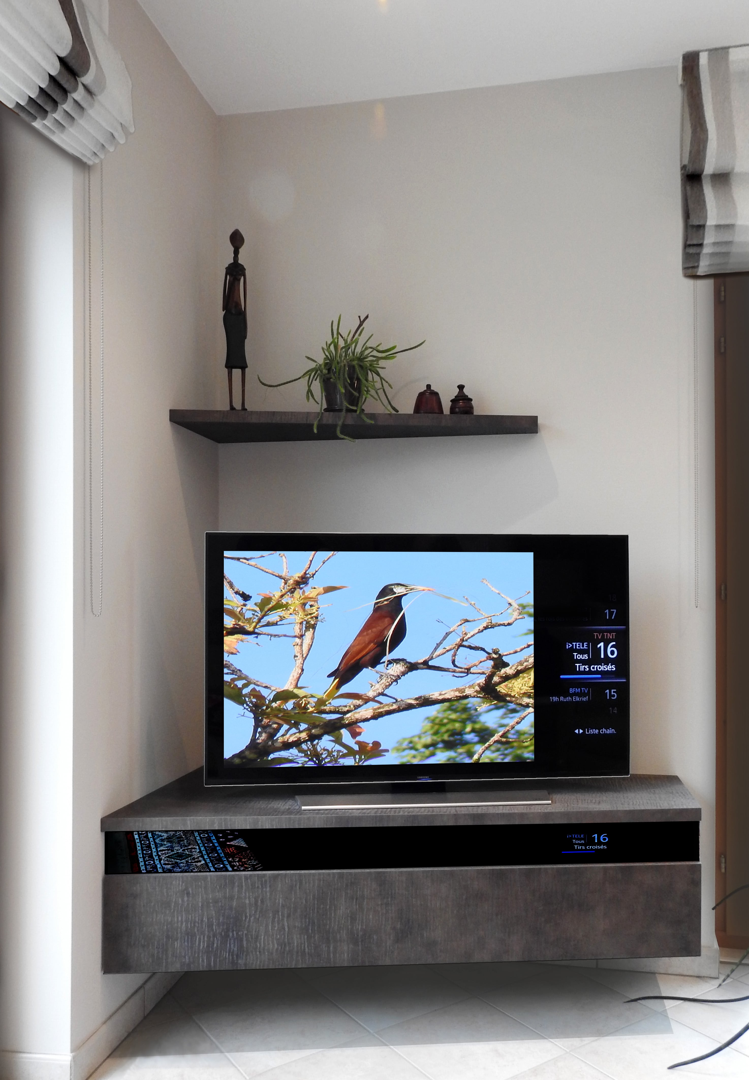 Meuble Tv Aquarium Gallery Of Meuble Duaquarium Aquavie Startup  # Meuble Tv Aquarium
